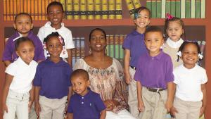 Benaja Christian Academy Preschool Students