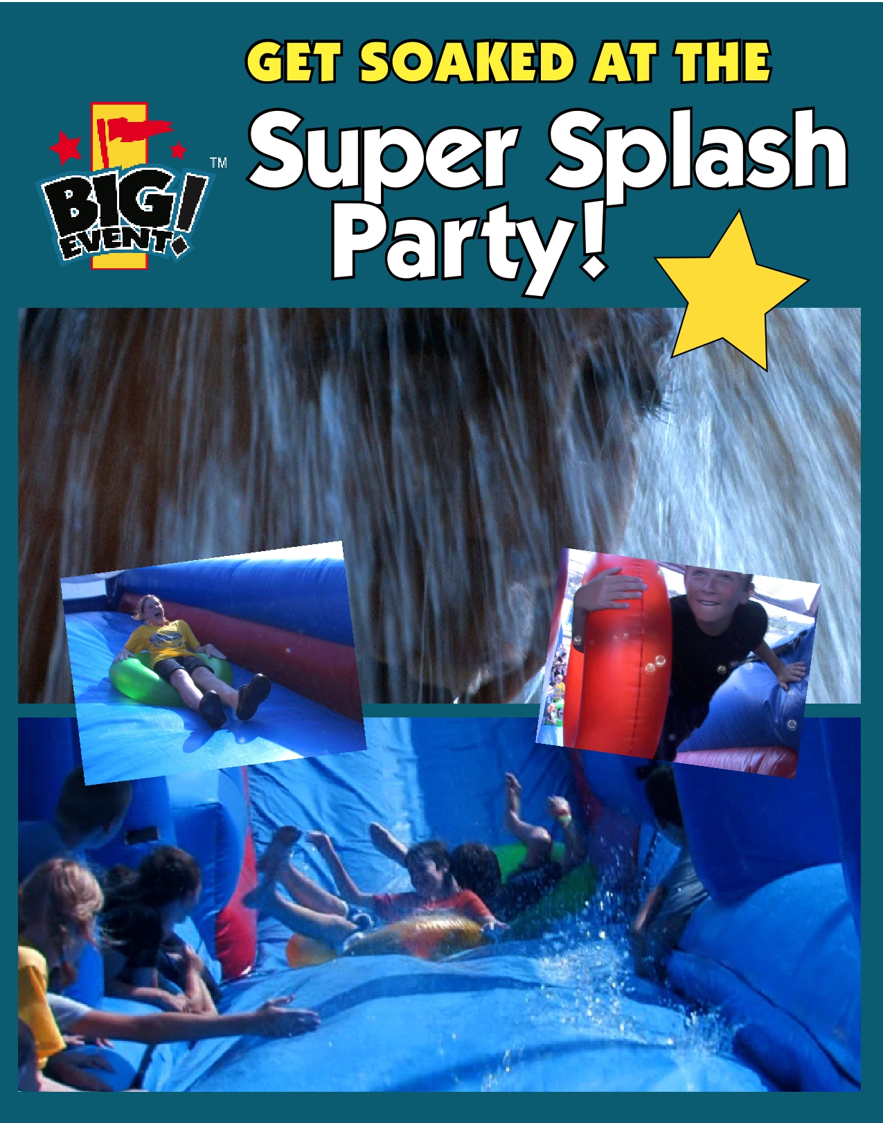 Big Event Super Splash Party Prize Program