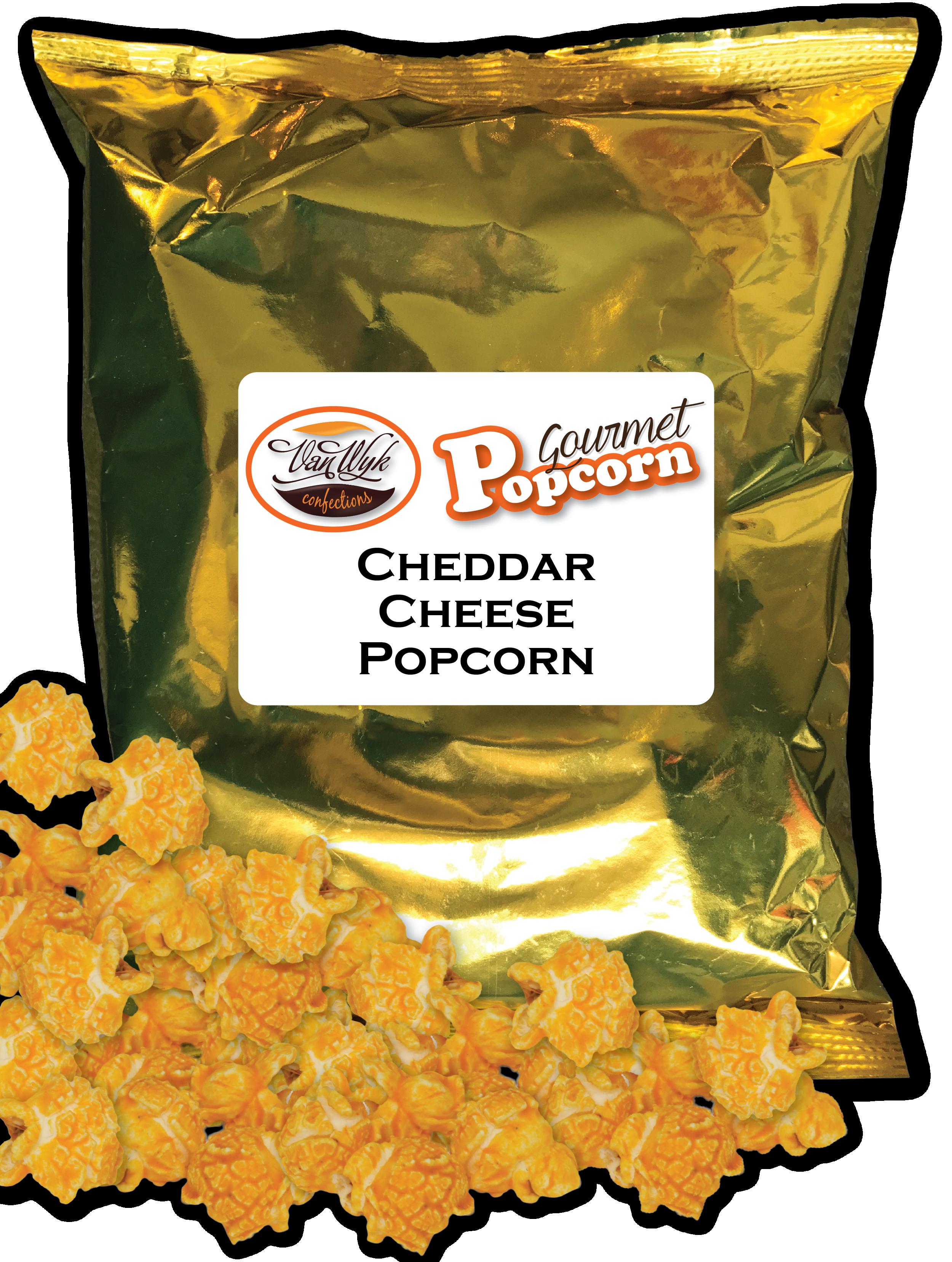 Caramel Dark Fudge Sea Salt Popcorn Bag