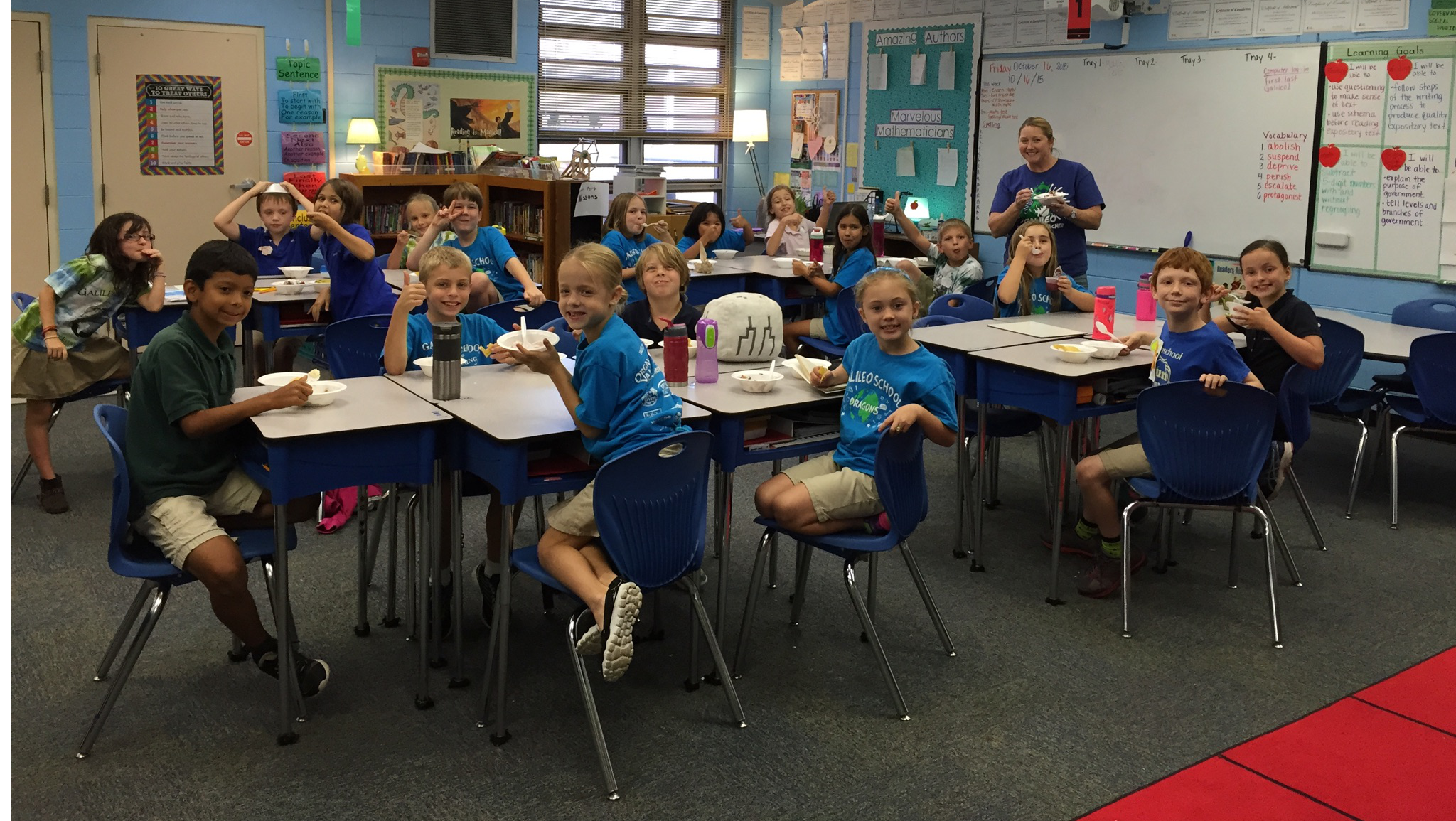 Galileo School for Gifted Learning Classroom