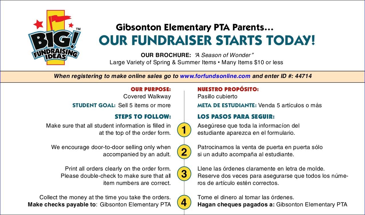 parent fundraiser information letter