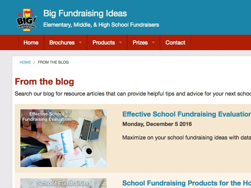 School fundraising ideas, resources and blogs