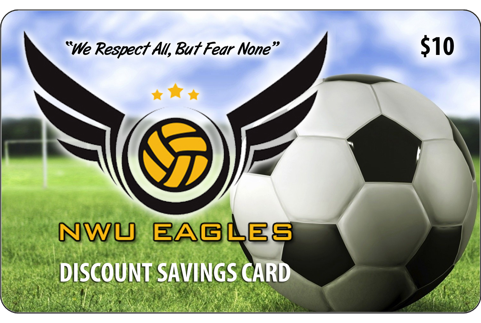 soccer-discount-card-fundraiser | big fundraising ideas
