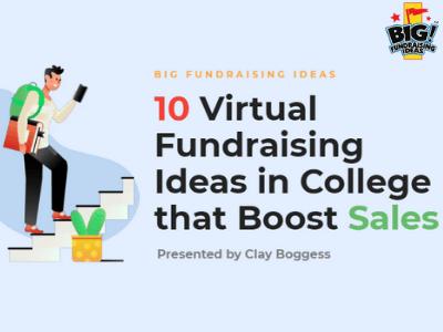 Fundraising Ideas in College