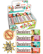$1 Chocolatiers Candy Bar Fundraising Product vwc-70416