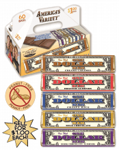 $1 America's Variety Candy Bar Fundraising Product vwc-62758