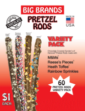 Big Brands Pretzel Rods Fundraising Product gw-10001