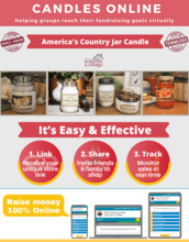 Candles Online Fundraiser