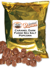 Caramel Dark Fudge Sea Salt Popcorn Fundraising Product vwc-31051