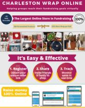 Charleston Wrap Online Fundraiser