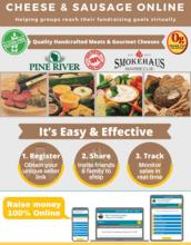 Cheese & Sausage Online Fundraiser