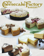 Cheesecake Factory Fundraiser Catalog