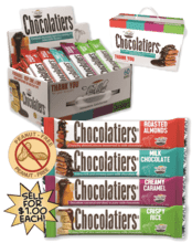 $1 Chocolatiers Candy Bar Fundraising Product vwc-94001