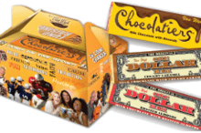 Chocolatiers Carrier and Candy Bars