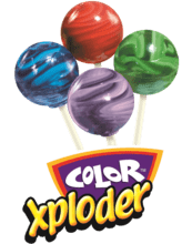 Color Xploder Lollipop Fundraising Product cc-02237