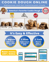 Cookie Dough Online Fundraiser