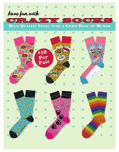Crazy Socks Catalog Fundraiser