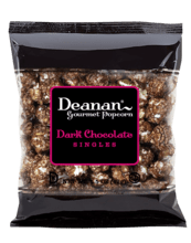 $2 Dark Chocolate Popcorn Fundraiser Bag FRSingles-DC