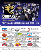 Discount Card Fundraising Product