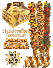 Double-Dipped Pretzel Rods Fundraiser vwc-24300