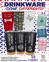 Drinkware Done Differently Catalog Fundraiser