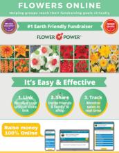 Flowers Online Fundraiser