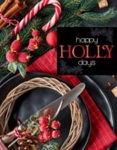 Happy Holly Days Catalog Fundraiser