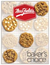 Mrs. Fields Cookie Dough Fundraiser Brochure