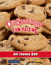 One Price Otis Spunkmeyer Brochure Fundraiser