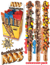 Pretzel Rods Display Fundraiser vwc-83430