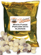 White Fudge with Almond Popcorn Fundraising Product vwc-31040