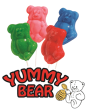 Yummy Bear Lollipop Fundraising Product cc-022624