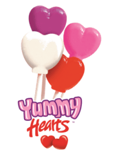 Yummy Hearts Lollipop Fundraising Product cc-022389