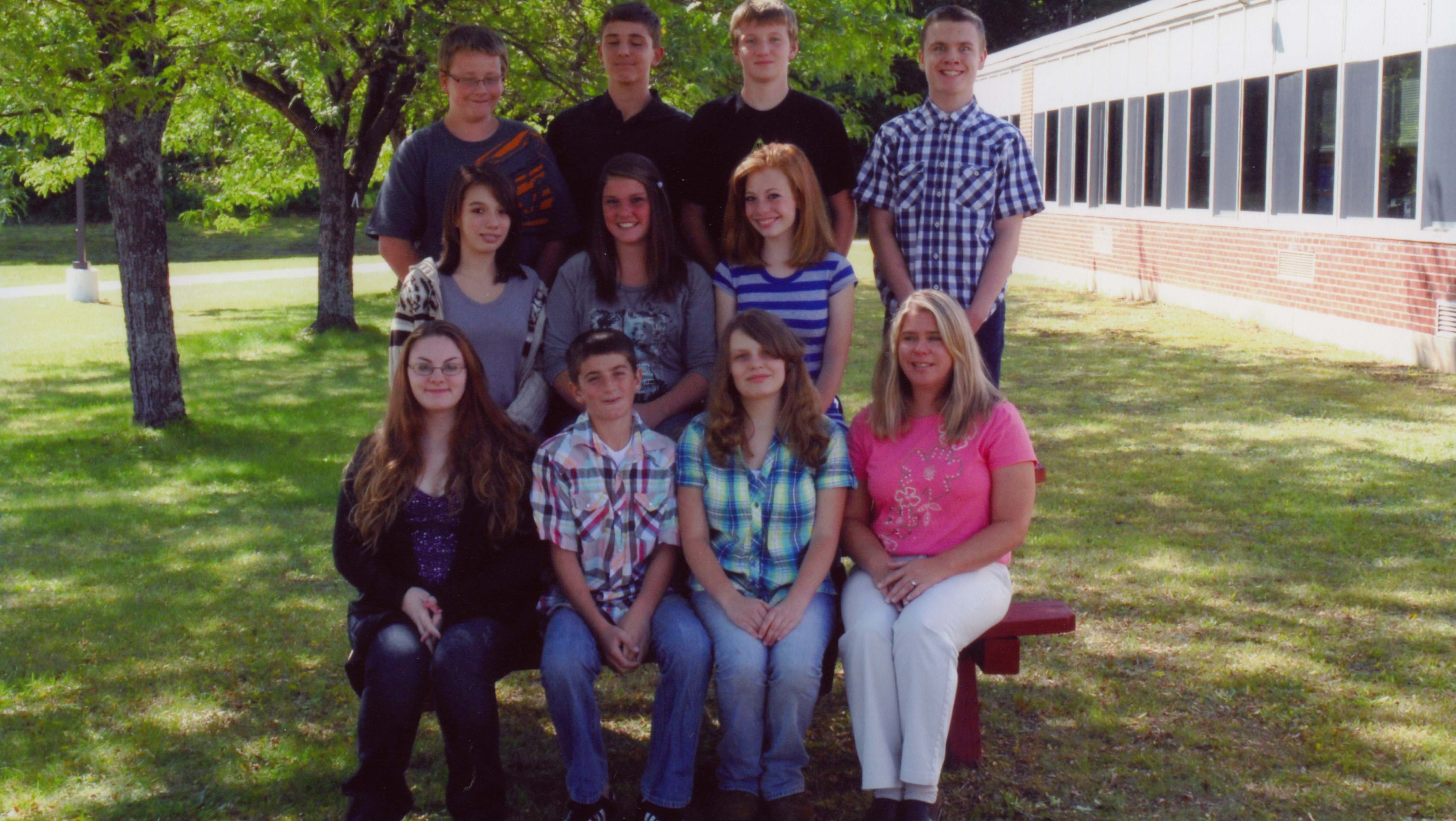 Wells Central School Students
