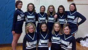 Zeigler Junior High Cheerleaders
